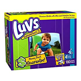Luvs Premium Stretch Diapers