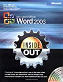 img - for Microsoft  Office Word 2003 Inside Out (Bpg-Inside Out) book / textbook / text book