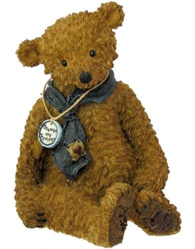 Boyds Bears Tattered Treasures Resin Teddy Bear