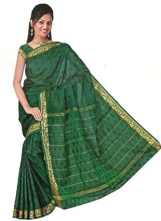 Bollywood Sari Kleid Regenbogen Grün: Amazon.de: Bekleidung