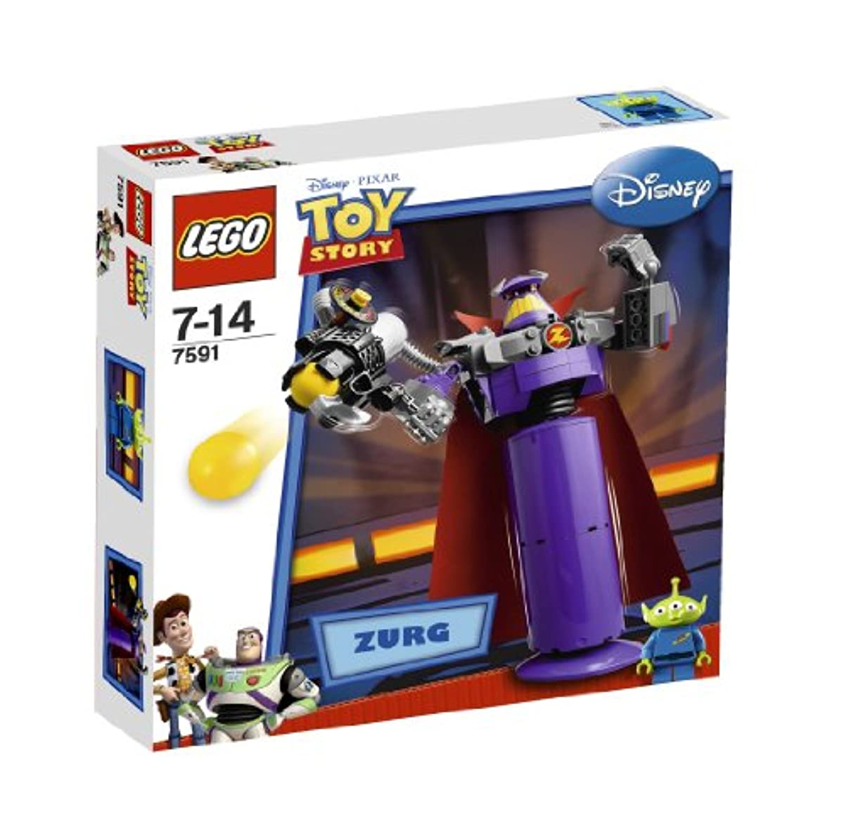 [해외] 레고 (LEGO) 토이 스토리 악의 제왕 더―구 7591 (2010-02-02)