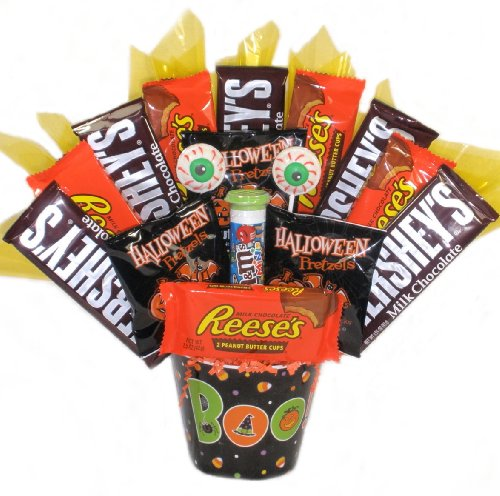 Peek-a-boo! Halloween Gift Basket - For Kids - For Her - For Him