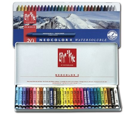 Caran D'ache Neocolor II Crayons (Pack of 30)