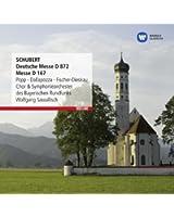 Schubert : Deutsche Messe, Messe D167, Salve Regina D379
