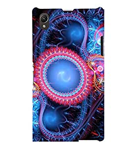 PRINTSWAG PATTERN Designer Back Cover Case for SONY XPERIA Z1