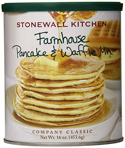Stonewall Kitchen Farmhouse Pancake and Waffle Mix, 16 Ounce Can