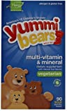 Yummi Bears Multi-Vitamin & Mineral, Vegetarian, 90-Count Sour Gummy Bears