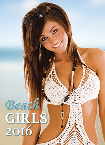 Beach Girls Wall Wall Calendar 2016 - Swimsuit Calendar - Female Model Calendar - Bikini Calendar by Helma - MegaCalendars