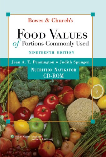 Bowes & Church's Food Values of Portions Commonly Used (Bowe's and Church's Food Values of Portions Commonly Used)