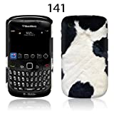TaylorHe Cow Print Blackberry Curve 8520 Hard Case Colourful with Patterns Full Body Printed Made in Great Britain Top Quality