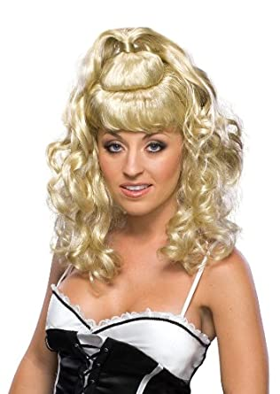 Rubie's Costume Spicy Blond Girl Adult Wig, Yellow, One Size