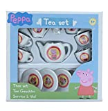 CHILDREN KIDS PEPPA PIG TEA SET - 13 PIECES - TOYS GAMES