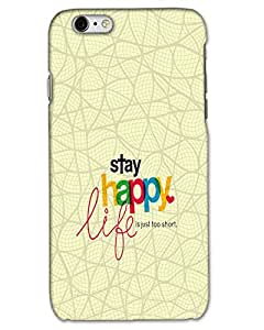 MobileGabbar I Phone 6 Cover / I Phone 6 Covers Back Cover Plastic Hard Case