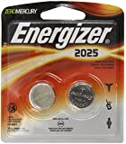 Energizer 2025BP-2 Lithium Button Cell Battery (2 Count)