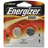 Energizer 2025BP-2 Lithium Button Cell Battery (2 Count) ~ Energizer