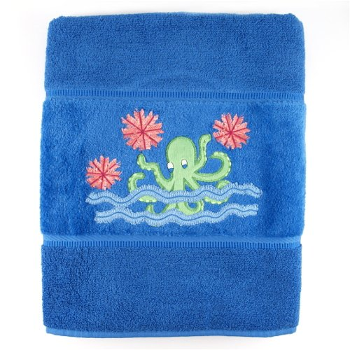Do It Yourself Octopus Garden Embroidered Luxury Bath