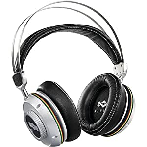 Marley TTR Earth Friendly With Mic Over-Ear Headphones-Iron