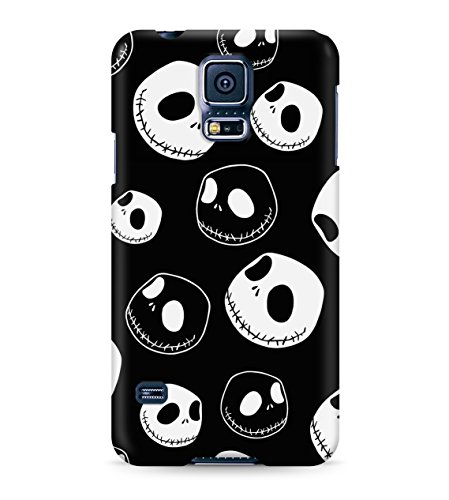 Nightmare Before Christmas Jack Skellington Pattern Hard Plastic Snap On Back Case Cover For Samsung Galaxy S5 Custodia