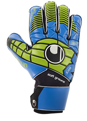 Uhlsport Eliminator Pro Guanti da portiere Nero/Blu/Verde Power Dimensione 9