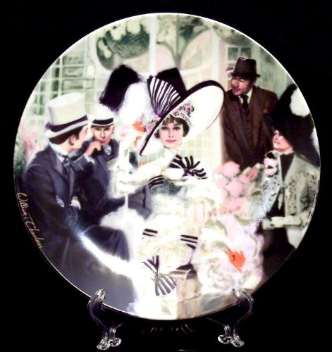 [My Fair Lady Collector's Plate - Fine China - Eliza Doolittle At