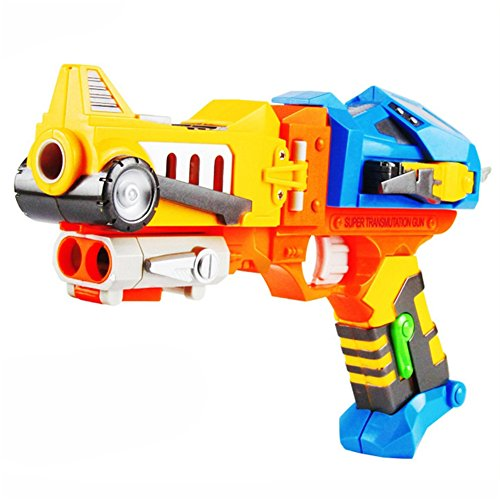 Children's Toy Colorful Toy Gun with Soft Bullets, Teach Shooter and Gun Safety, Real Dimensions, Fun Outdoor Game, Children Safe Play (Cheap Halo Guns compare prices)