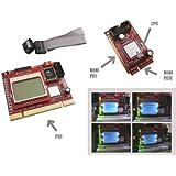 KALEA-INFORMATIQUE © - Testeur Multifonction pour cartes mères avec Ecran LCD - Interfaces PC portable et PC de bureau : PCI / Mini PCI / Mini PCIe / LPC - OUTIL PROFESSIONNEL / VERSION 2011