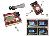 KALEA-INFORMATIQUE © - Testeur Multifonction pour cartes mères avec Ecran LCD - Interfaces PC portable et PC de bureau : PCI / Mini PCI / Mini PCIe / LPC - OUTIL PROFESSIONNEL / VERSION 2011...