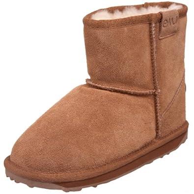 EMU Australia Wallaby Mini Boot (Toddler/Little Kid/Big Kid),Chestnut,4 M US Big Kid