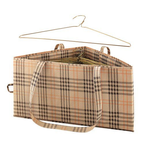 Hanger Hamper Plaid