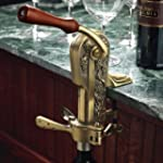 Wine Enthusiast Legacy Corkscrew, Ant...