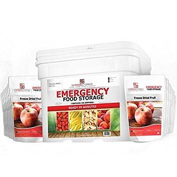 Organic freeze dried emergency food, prepare business