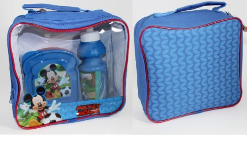 Disney Mickey Mouse Lunch Kit Bag front-102103