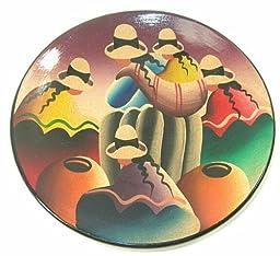 Peruvian Chola Plate 8 Inch