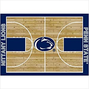 College Court Penn State Nittany Lions Rug Size: 7