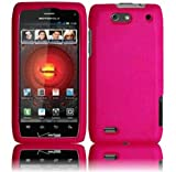 Hot Pink Hard Case Cover for Motorola Droid 4 XT894