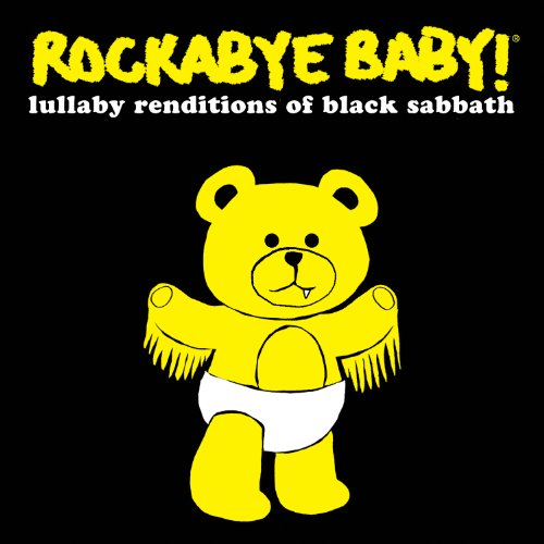 Original album cover of Rockabye Baby! Lullaby Renditions of Black Sabbath by Rockabye Baby!