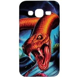 Casotec Designer Soft TPU Back Case Cover for Samsung Galaxy Core Prime G3606