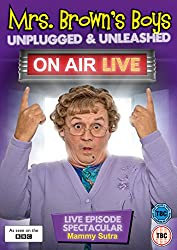 Mrs Brown's Boys: Unplugged & Unleashed - On Air Live [DVD]