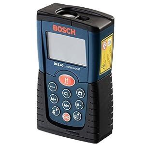 Bosch laserentfernungsmesser dle 40 mit batterien und - Medidor laser bosch ...