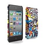 Proporta Cover rigida Ben Allen per iPod touch 4G Apple - Tiger Graffiti