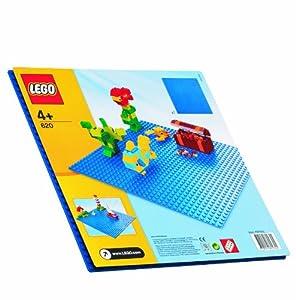 LEGO 620  - Steine & Co. Blaue Bauplatte