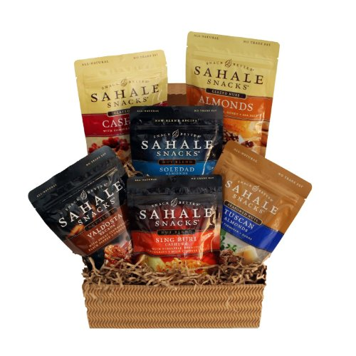 Sahale Snacks Gluten-Free Gourmet Snack Gift Box (6 flavors)