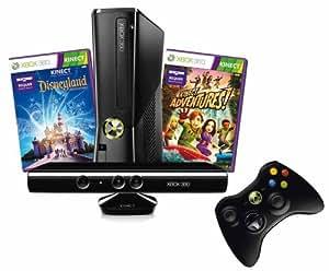 Xbox 360 4 GB Kinect + Kinect Disneyland Adventures Bundle