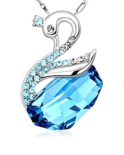 Crystal Pearl Conjunto de cadena y colgante