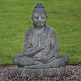 Large Garden Ornaments - Java Stone Buddha Statue