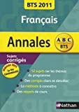 echange, troc Miguel Degoulet - Francais BTS 2011 : Sujet corrigés (Génération(s) / Le rire)