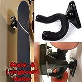 Skateboard-und-Longboard-Wandhalter-Stativ-360-Grad-fr-alle-Boards-geeignet-und-leicht-anzubringen