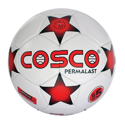 Cosco Permalast Football, Size 5  available at amazon for Rs.548