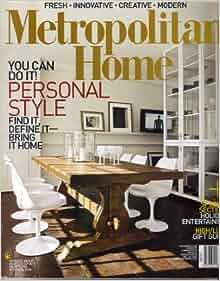 Metropolitan home magazine vol 39 no 10 december 2007 issn 0273 2858 donna warner for Metropolitan exteriors inc reviews