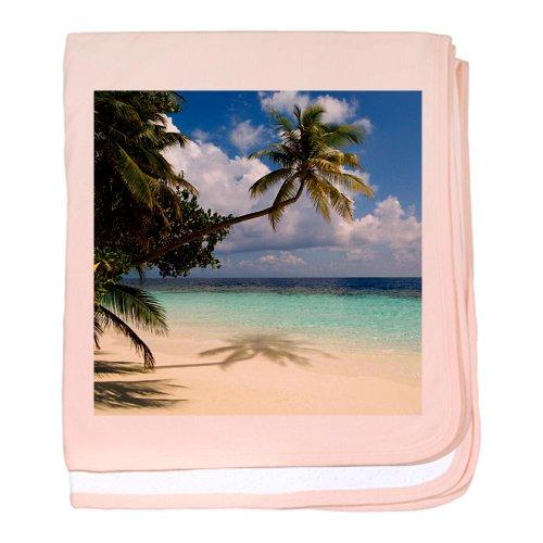 Cafepress Tropical Beach - Baby Blanket Baby Blanket - Standard